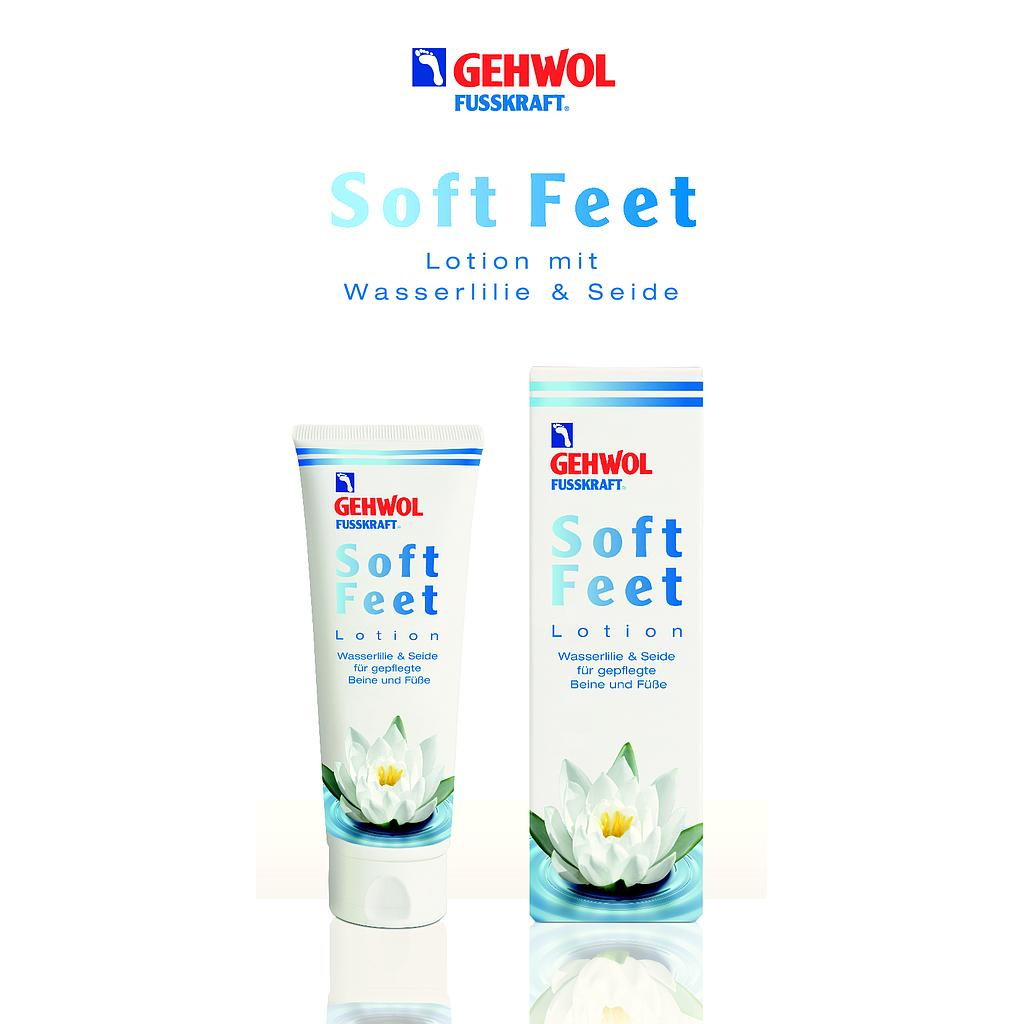 Info Flyer GEHWOL® Soft Feet Lotion (10 Stück)