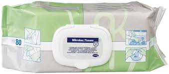 Mikrobac Tissues, Flow-Pack mit 80 Tüchern